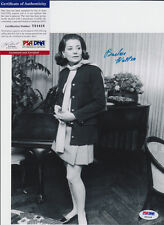 BARBARA WALTERS THE VIEW SIGNED AUTOGRAPH 8X10 PHOTO PSA/DNA COA #Y81418