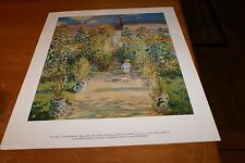 "MUSEUM ART PRINT The Artist's Garden at Vetheuil  Claude Monet 1840-1926 14""X11"""
