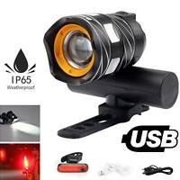 Fahrradlicht Fahrradbeleuchtung T6 LED MTB Fahrradlampe Frontscheinwerfer IP65