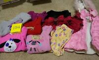 Girls Clothes 2T - Fall/Winter - Mixed Lot of 9 Pieces #154