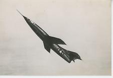 Le Douglas Skyrocket, 1948 Vintage silver print,Le Douglas Skyrocket est un av