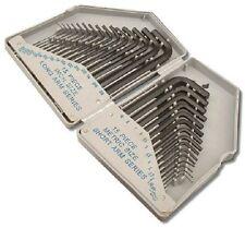 Toolzone 30 Stück metrisch & zöllig ( mm / AF) Hex Key Einsatz faltbarer Koffer