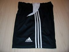 ADIDAS CLIMACOOL BLACK W/WHITE STRIPES ATHLETIC SHORTS MENS LARGE GOOD CONDITION