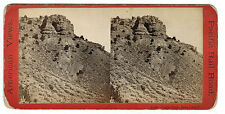 Anthony Stereoview - Pacific Railroad - Castle Rock, Echo Canyon