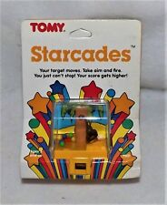TOMY STARCADES VINTAGE WINDUP SETof 4 WKW TOYS 1987 ANTIQ AMAZING MINT CONDITION