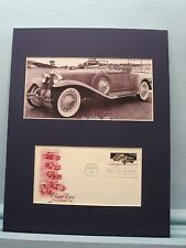 The Cord Automobile - Pace Car for the 1930 Indy 500 & First Day Cover of stamp
