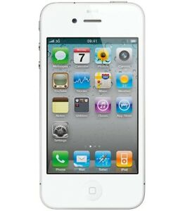 Apple iPhone 4 White Used Great Condition   Fully Functional