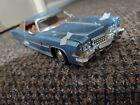 Anson 1/18 Rare blue 1973 Cadillac Eldorado Toy Model Collectible Car