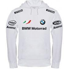 FELPA BMW MOTORRAD WHITE BLACK MAGLIETTA POLO t-shirt SCALDACOLLO