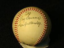 Don Gutteridge St Louis Cardinals Autographed Bartlett Giamatti Baseball