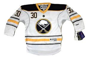 Reebok NHL Youth Buffalo Sabres Ryan Miller Hockey Jersey NWT S/M