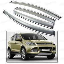 Window Visor Vent Shade Rain/Sun Guard Deflectors for 2013-2015 Ford Kuga Escape