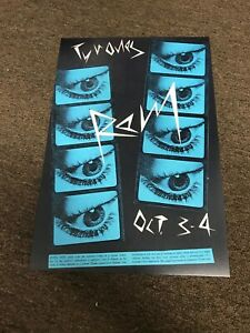 "R.E.M. 1980 Athens GA Tyrone's Cardstock Concert Poster 12""x18"""