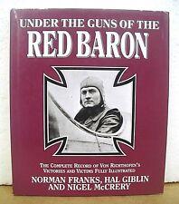 Under The Guns Of The Red Baron von Richthofen's Victories & Victims 2000 HB/DJ
