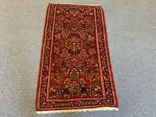 ANTIQUE SAROUCK SMALL SCATTER RUG/RUNNER 2.4 X4.0