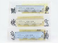 N Scale Precision Masters Kit 1401 3-Pack UP Union Pacific 3-Bay Hopper SEALED