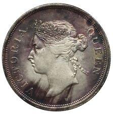Straits Settlements, 50 Cents, 1897 H, Victoria, scarce date