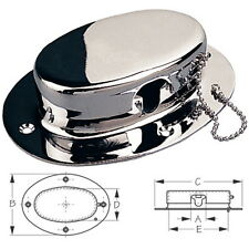 Chrome Plated Forged Brass Rope and Chain Deck Pipe for Boats