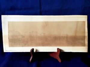 SIGNED John Ruskin (1819-1900) Letter & Attributed Pencil/Graphite Ruins Drawing
