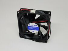 Fan 24V 24VDC PLASTIC FRAME 80MM X 80MM X 25MM 80X80X25MM USA FREE SHIPPING