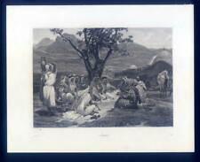 Araber-Arabic-Arabes-Arabien, Stahlstich 1863