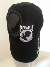 POW-MIA You Are Not Forgotten Baseball Cap Hat In Black USA