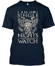 I Am Not Single - In The Night S Watch Premium Tee T-Shirt
