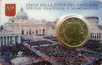 Vaticano 2015 Cartera Oficial Coin Card nº 6 Moneda 0.50 ? euros