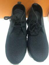 NEW LOUIS VUITTON Shoes Sneakers MEN FASTLANE DAMIER BLACK 10 LV/ 11 US AUT