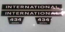 International 434 hood decals