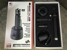 New Maglite Mag-Tac Rechargeable Tactical Flashlight System Crown Bezel TRM1RA4