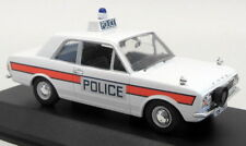 Atlas 1/43 Scale British Police Ford Cortina Mk2 Hampshire Diecast model car
