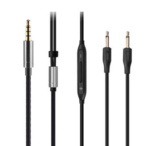 3.5mm OCC Audio Cable with mic For harman/kardon soho wired Headphones