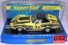 SUPERSLOT H3726 CHEVROLET CORVETTE STINGRAY L88 #21 AMERICAN RACE SCALEXTRIC UK