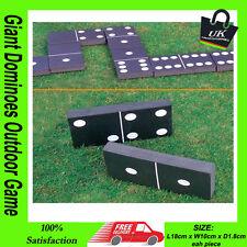 Garden Patio Giant Dominoes Outdoor Game For Family & Kids Children Summer Fun**