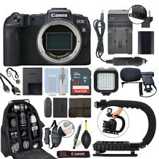 Canon EOS RP Mirrorless 26.2MP Digital Camera Body + 64GB Pro Video Kit