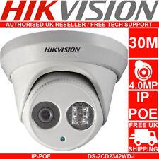 Hikvision English Version DS-2CD2342WD-I 4MP WDR EXIR Turret Network Camera