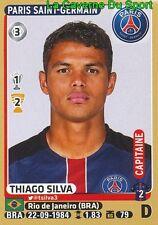 346 THIAGO SILVA # BRAZIL PSG PARIS.SG STICKER PANINI FOOT 2016