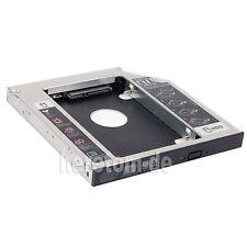 "2.5"" 2nd BOX Caddy Bay Tray SATA HDD to 9.5mm ODD CD DVD RW Rom BD Blue Ray Hard"