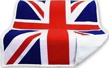 Coperta Plaid in Pile morbidissimo con retro effetto lana Bandiera Inghilterra