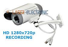 Telecamera HD 720p con DVR Integrato WaterProof Visione Notturna + SD Card 32GB