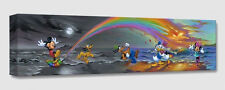 """DISNEY Fine Art  - """" MICKEY MAKES OUR DAY """" - SIZE: 7 X 28 