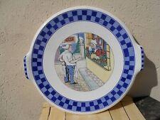 Rare plat le Per' Lustucru faïencerie de Sarreguemines Cartier Millon Grenoble