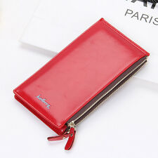 USFAST Women Leather Clutch Long Wallet Card Holder Lady Phone Bag Purse Handbag