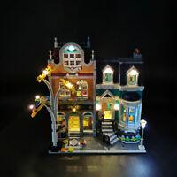 ONLY LED Light Lighting Kit For LEGO 10270 Bookshop Building Block Bricks  ❀