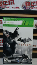 Batman Arkham City Xbox 360 Full Game Download Code