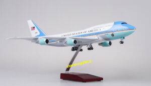 1:150 Scale Resin US Air Force One B747 Boeing 747 Airplane Airliner Model