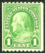 #604 coil us/usa 1924 stamp mint nh/mnh