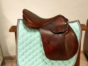 "17.5"" Childeric M Saddle – $1550"