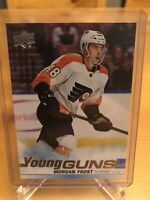 MORGAN FROST 2019-20 Young Guns Rookie RC Mint - Philadelphia Flyers + BONUS